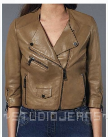 Leather Jacket # 239
