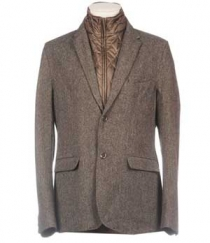 Pure Wool Tweed Jacket