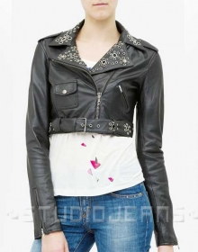Leather Jacket # 232