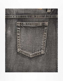 Hunger Black Stretch Jeans - Vintage Wash