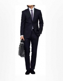 The Classic Stripe Collection - Wool Suits