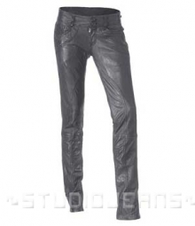Leather Biker Jeans - Style #501