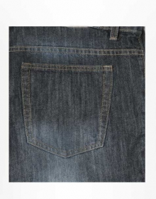 Fielder Blue Scrapped Jeans