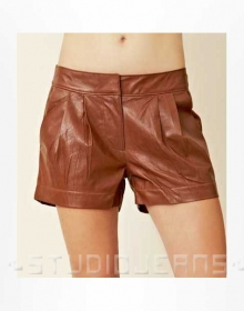 Leather Cargo Shorts Style # 360