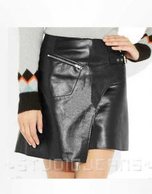 Element Leather Skirt - # 179