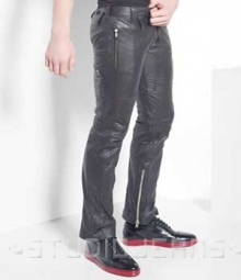 Leather Biker Jeans - Style #507