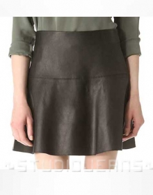Monaco Leather Skirt - # 158