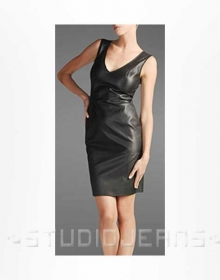 Modern Leather Dress - # 750