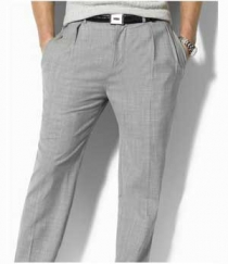Terry Rayon Classic Dress Pants