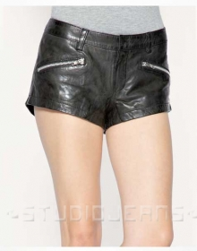 Leather Cargo Shorts Style # 354