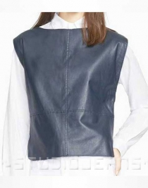 Blouson Leather Top Style # 60