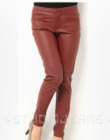 Zoey Leather Pants