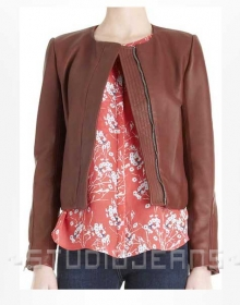 Leather Jacket # 210