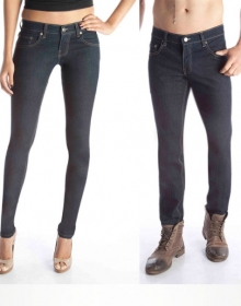 Classic Stretch Jeans - Dark Wash