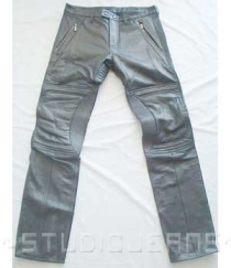 Leather Biker Jeans - Style #505