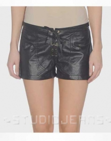 Leather Cargo Shorts Style # 359