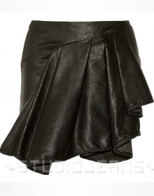 Eclair Leather Skirt - # 447