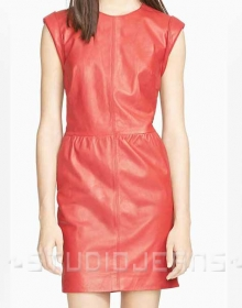 Beverly Leather Dress - # 768