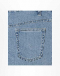 Nautical Ultra Stretch Jeans - Light Blue