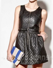 Charming Leather Dress - # 777