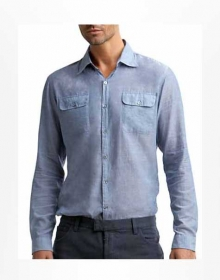Modern Flap Pocket Shirt - Full Sleeves