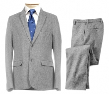 Pure Wool Tweed Suit