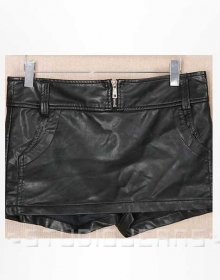 Cheerleader Leather Skort - # 167