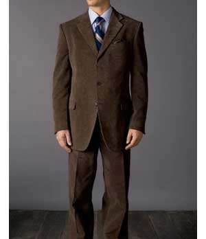 Corduroy Suit - Pre Set Sizes : Custom Jeans, - Suits - Leather